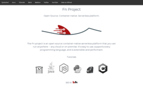 fnproject.io
