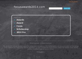 focusawards2014.com