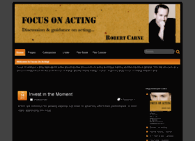 focusonacting.org