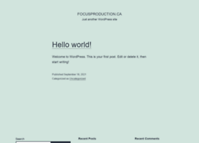 focusproduction.ca