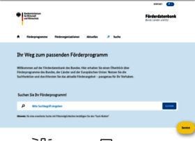 foerderdatenbank.de