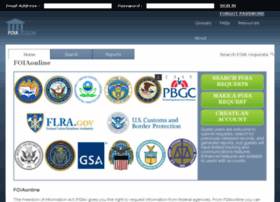 foiaonline.regulations.gov