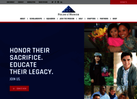foldsofhonor.org