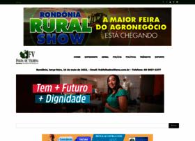 folhadevilhena.com.br