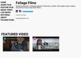 foliagefilms.com