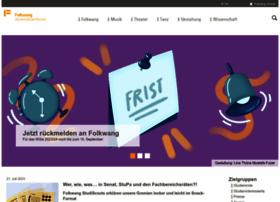 folkwang-uni.de