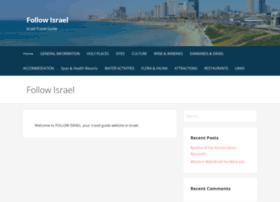 follow-israel.com