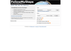 followmysteps.de