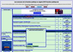 fonction-publique.forumalgerie.net