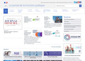 fonction-publique.gouv.fr