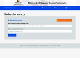 fonctionpublique-actes.gouv.sn