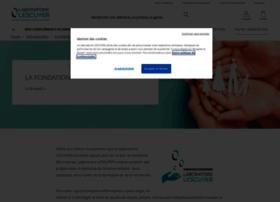 fondation.laboratoire-lescuyer.com