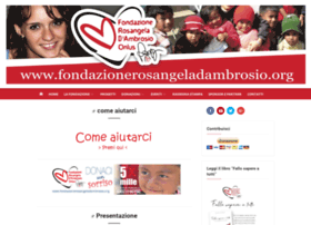 fondazionerosangeladambrosio.org
