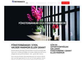 fonsterbankar.se