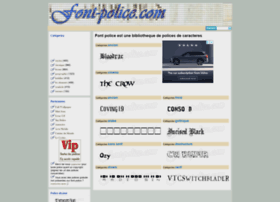 font-police.com