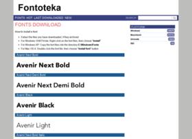 fontoteka.com