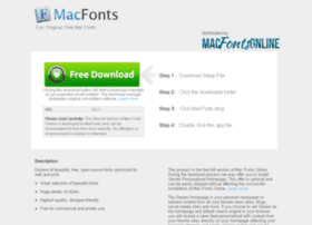 fonts-for-mac.com