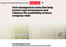 fontwise.com