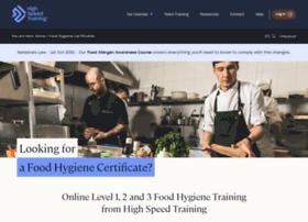 food-certificate.co.uk