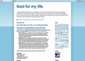 food-for-my-life.blogspot.com