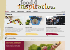 food4inspiration.be