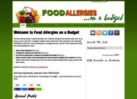 foodallergiesonabudget.com