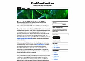 foodconsiderations.wordpress.com