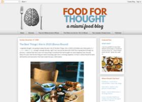 foodforthoughtmiami.com
