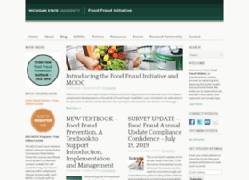 foodfraud.msu.edu