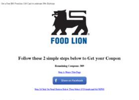 foodlion.com-year.com