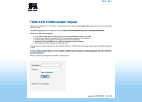 foodlion.sponsor.com