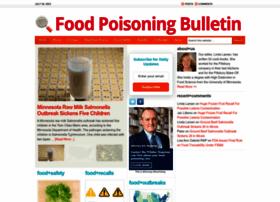 foodpoisoningbulletin.com