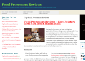 foodprocessorsreviews.org