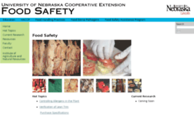 foodsafety.unl.edu