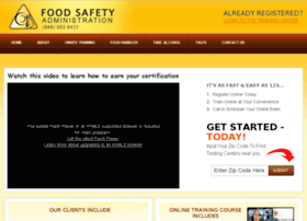foodsafetyadmin.com