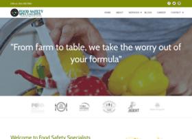 foodsafetyspecialists.com
