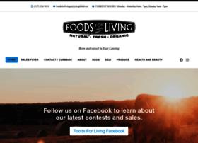 foodsforliving.com