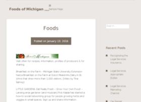 foodsofmichigan.com