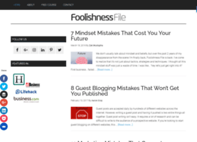 foolishnessfile.com
