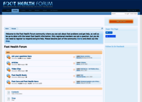foot-health-forum.com