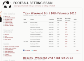 footballbettingbrain.com