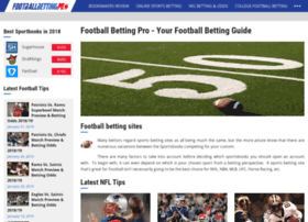 football betting official guide to nfl and college football betting