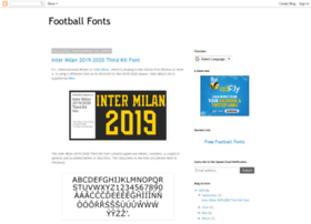 footballfont.blogspot.be