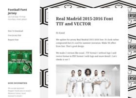 footballfontjersey.com