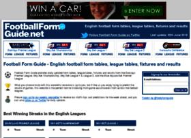 footballformguide.net