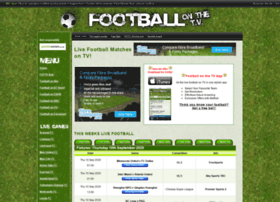 footballonthetv.co.uk
