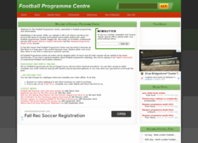 footballprogrammecentre.co.uk