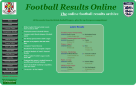 footballresultsonline.co.uk