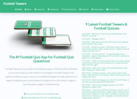 footballteasers.co.uk