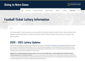 footballtickets.nd.edu